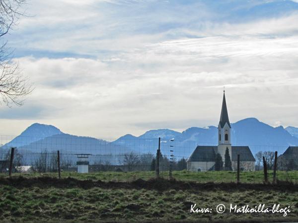 Autobahn A8, Salzburg - München. Kuva: © Matkoilla-blogi