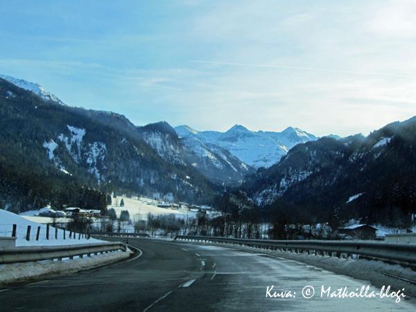 Vuoria päin käy matka. Kuva: © Matkoilla-blogi