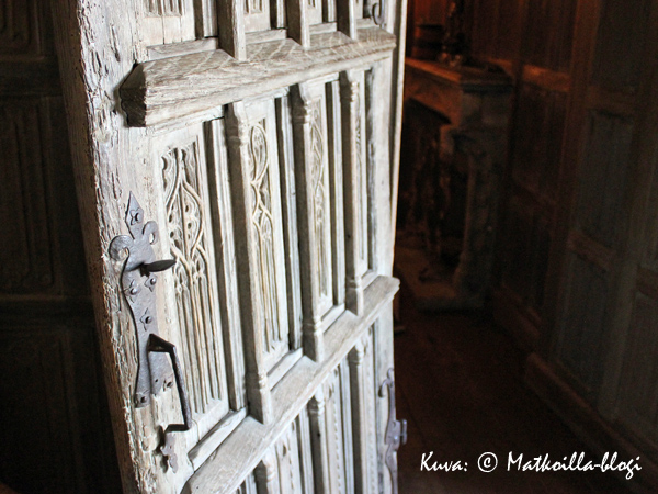 Häringen linnassa kannatti aamiaisen jälkeen kiertää ihailemassa kauniita yksityiskohtia. Kuva: © Matkoilla-blogi