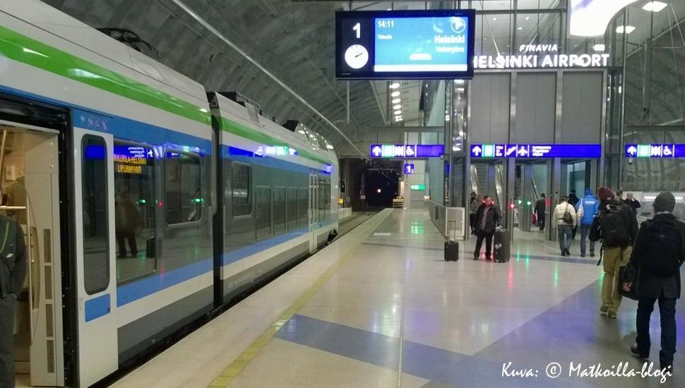 Kehärata, lentokentän uusi asema. Kuva: © Matkoilla-blogi