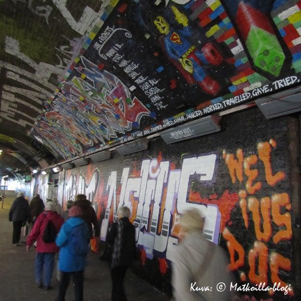Leake Street, London. Kuva: © Matkoilla-blogi