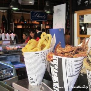 Mercado de San Miguelissa voi hyvin suorittaa pitkän lounaan tapaksien ja hyvien juomien ympärillä. Kuva: © Matkoilla-blogi