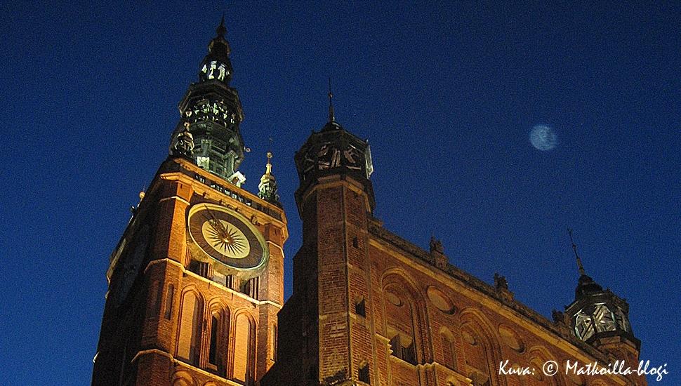 Kuukauden kuva: Gdanskin Raatihuone. Kuva: © Matkoilla-blogi