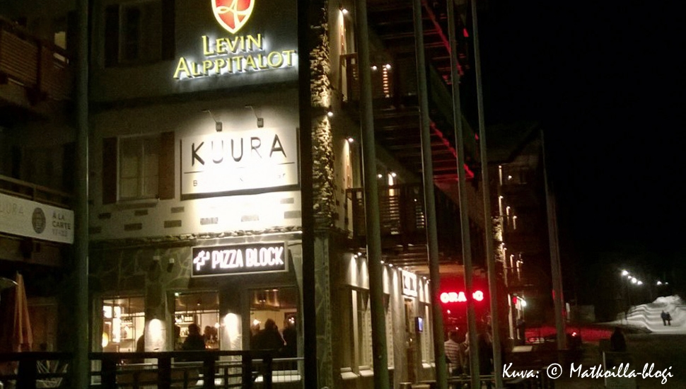 Kuura ja Colorado - Levin ravintolahuippuja. Kuva: © Matkoilla-blogi