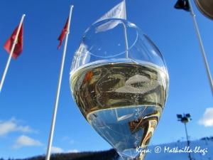 Ravintola Kuuran aurinkoinen terassi - Levin tyylikkäin? Kuva: © Matkoilla-blogi