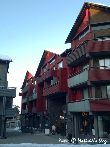 Break Sokos Hotel Levi sijaitsee alppitaloalueella. Kuva: © Matkoilla-blogi