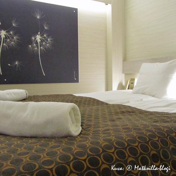 Inside Comfort Plus-hytti. Kuva: © Matkoilla-blogi
