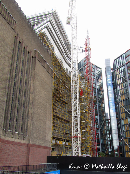 Tate Modern, Lontoo: Uusi osa The Switch House. Kuva: © Matkoilla-blogi