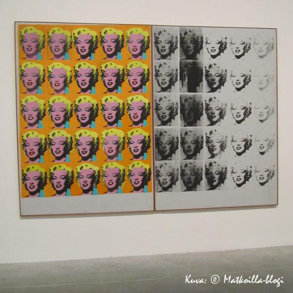 Tate Modern, Lontoo: Warhol. Kuva: © Matkoilla-blogi