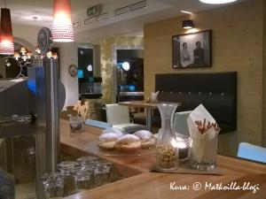 Hotellin pieni baari... Kuva: © Matkoilla-blogi