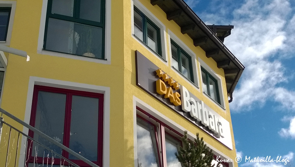 Das Barbara - hotellimme Obertauernissa. Kuva: © Matkoilla-blogi