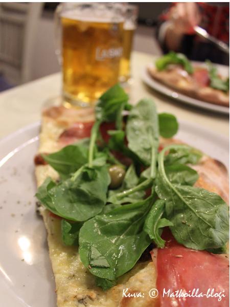Oliva Pizzeria - laadukasta & maukasta pizzaa. Kuva: © Matkoilla-blogi