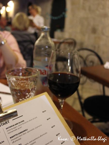 Oliva Gourmet (ent. Bistro Zuzori), Dubrovnik. Kuva: © Matkoilla-blogi