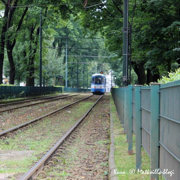 Krakova - vehreä kaupunki. Kuva: © Matkoilla-blogi