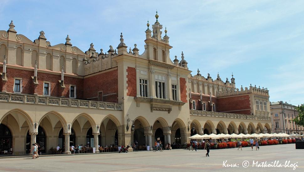 Krakova - kulttuurikaupunki. Kuva: © Matkoilla-blogi