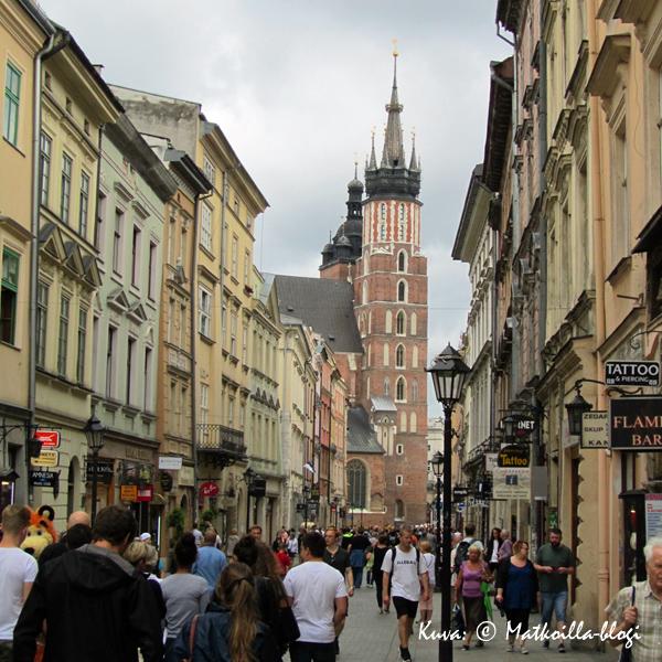 Krakova - vanha kaupunki. Kuva: © Matkoilla-blogi