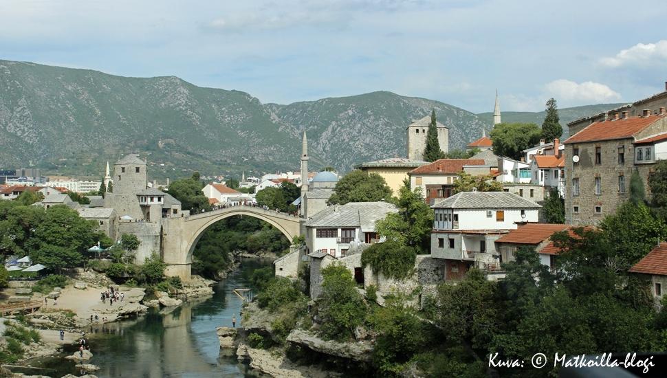 Mostarin silta. Kuva: © Matkoilla-blogi