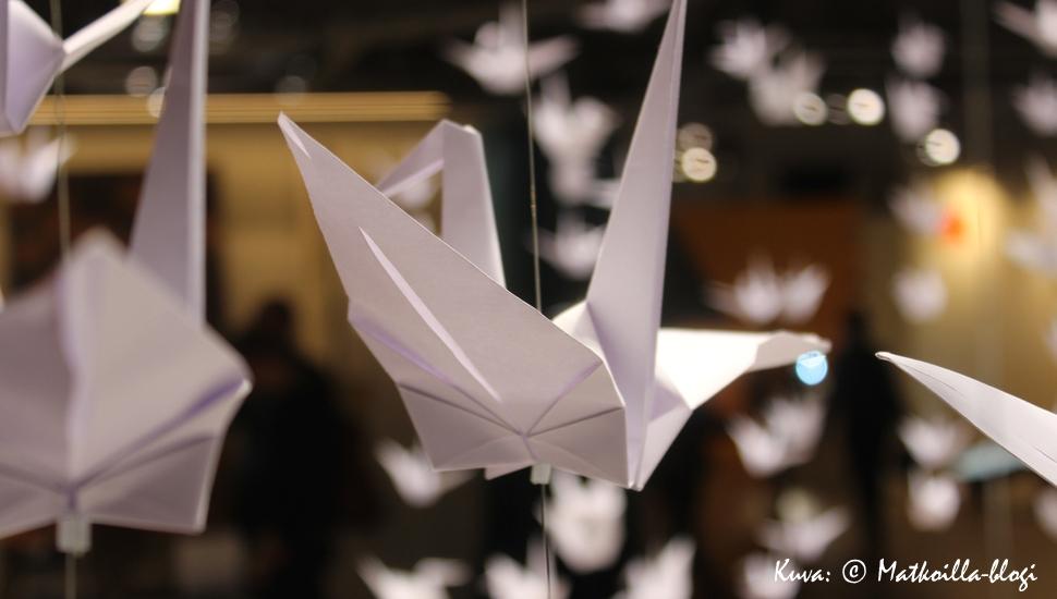 Habitare 2016: Origamilinnut. Kuva: © Matkoilla-blogi