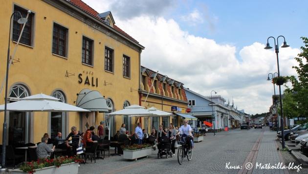 Vanha Rauma, Kuninkaankatu. Kuva: © Matkoilla-blogi