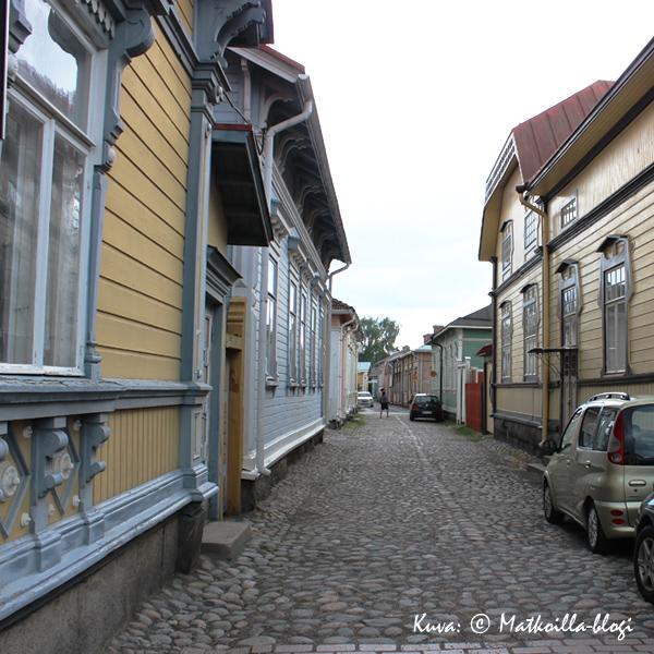 Vanha Rauma, Isopoikkikatu. Kuva: © Matkoilla-blogi