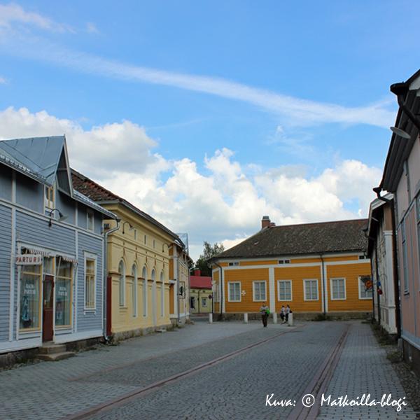 Vanha Rauma, Kauppakatu. Kuva: © Matkoilla-blogi