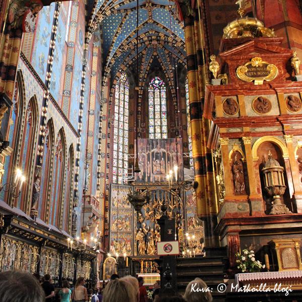 Krakova: Mariankirkko. Kuva: © Matkoilla-blogi