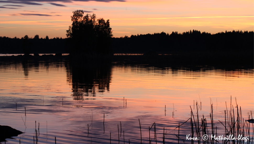 Suomi - tuhansien järvien maa. Kuva: © Matkoilla-blogi