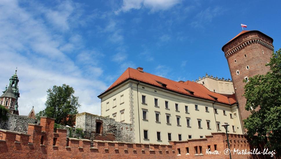 Wawelin linna-alue, Krakova. Kuva: © Matkoilla-blogi