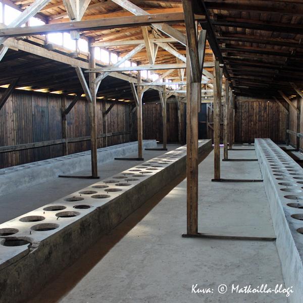 Birkenau - parakki sisältä. Kuva: © Matkoilla-blogi