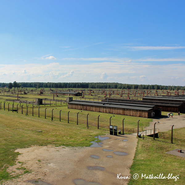 Birkenau - parakkeja silmänkantamattomiin. Kuva: © Matkoilla-blogi