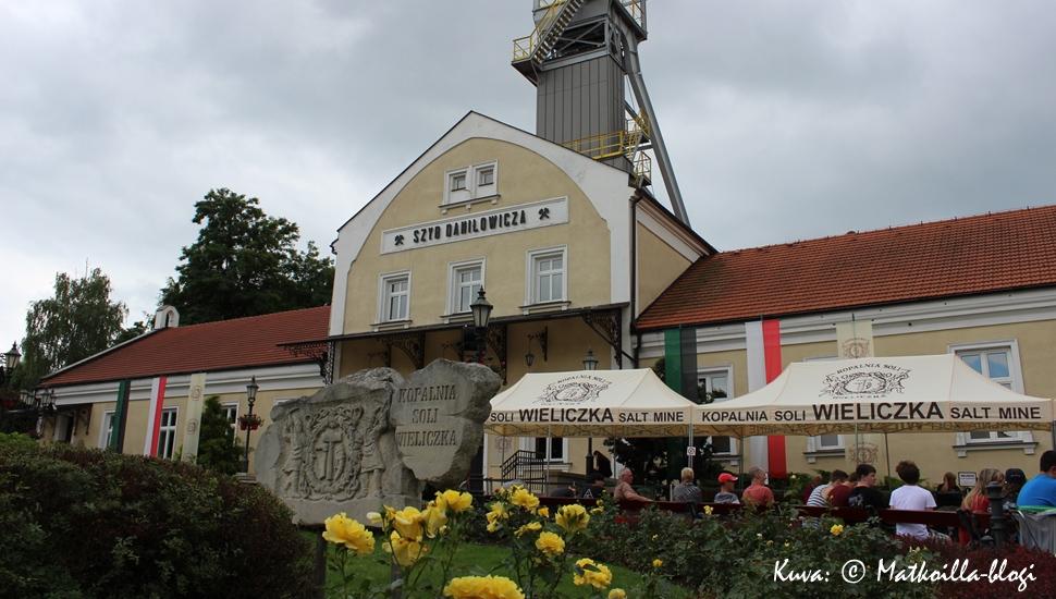 Wieliczkan suolakaivoksen päärakennus. Kuva: © Matkoilla-blogi