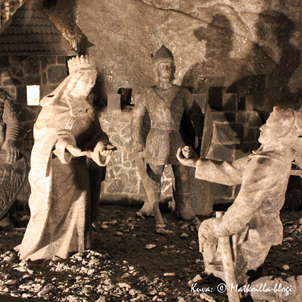 Wieliczkan suolakaivos. Kuva: © Matkoilla-blogi