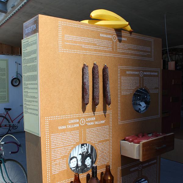 Banaane ei ole-näyttely, Tallinna. Kuva: © Matkoilla-blogi