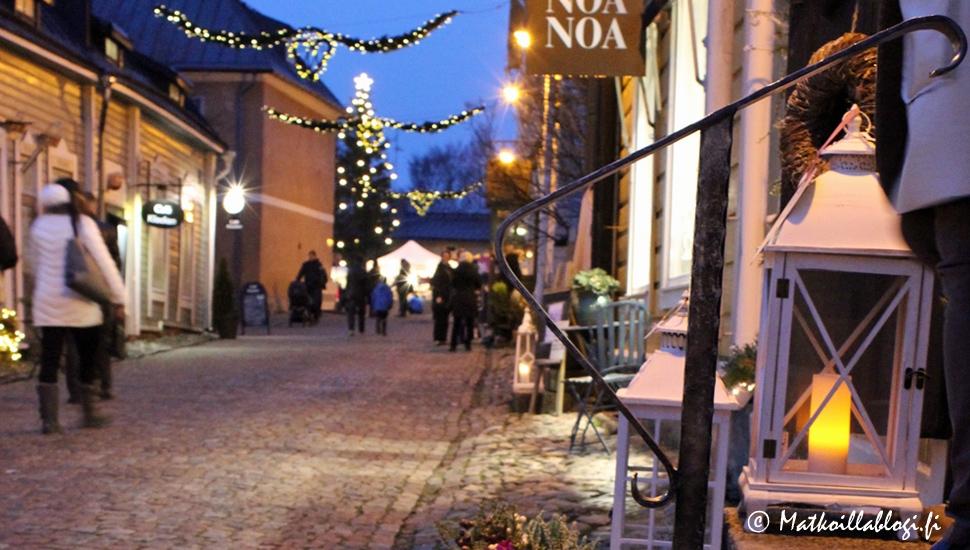 joulu porvoossa 2018 Kuukauden kuva: Jouluinen Porvoo   Matkoillablogi joulu porvoossa 2018