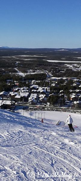 Kuukauden kuva, maaliskuu 2018: Levin eturinteet. Kuva: © Matkoillablogi.fi