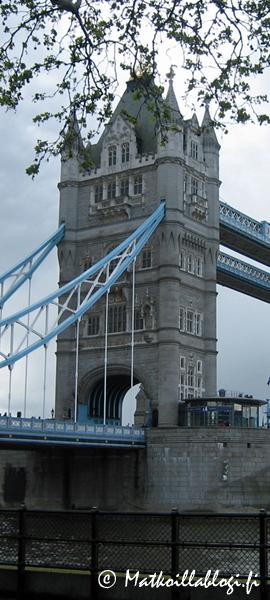 Kuukauden kuva, huhtikuu 2018: Tower Bridge, Lontoo. Kuva: © Matkoillablogi.fi