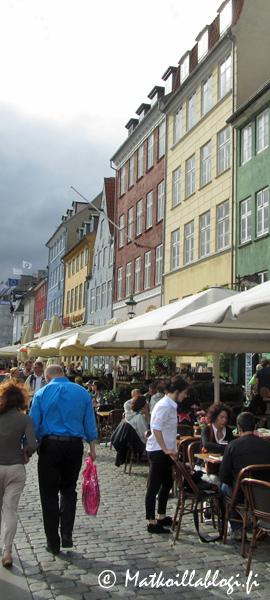 Kuukauden kuva, heinäkuu 2018: Nyhavn , Kööpenhamina. Kuva: © Matkoillablogi.fi