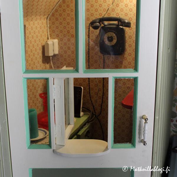 Helgas - oma arvio oli, että tämä pieni koppero oli aikoinaan toiminut matkustajakodin respana?