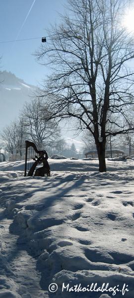 Kuukauden kuva, tammikuu 2018: Kurpark, Bad Hofgastein. Kuva: © Matkoillablogi.fi