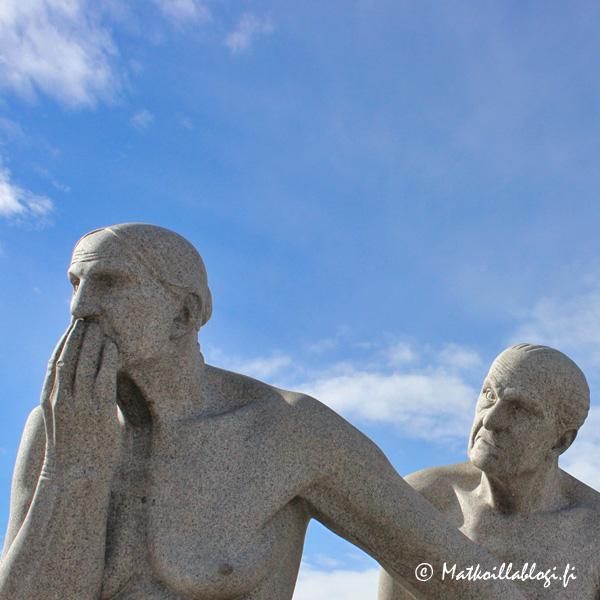 Oslo, Vigelandsanlegget: Mies ja nainen