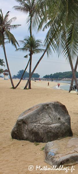 Kuukauden kuva, marraskuu 2019: Siloso Beach, Singapore. Kuva: © Matkoillablogi.fi
