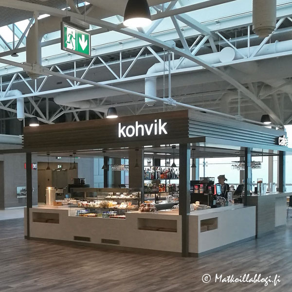 Tallinnan D-terminaali, kahvila