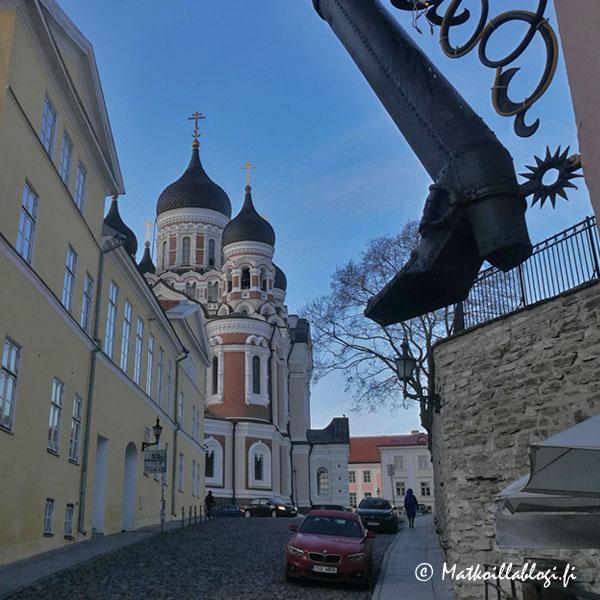 Tallinna Toompea, Aleksander Nevski-katedraali