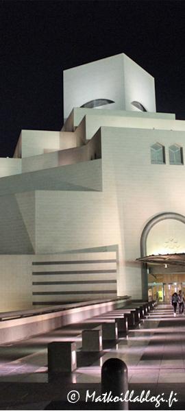 Kuukauden kuva, huhtikuu 2021: Doha, Islamilaisen taiteen museo MIA. Kuva: © Matkoillablogi.fi
