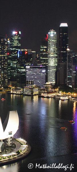 Kuukauden kuva, toukokuu 2021: Singapore, Marina Bay. Kuva: © Matkoillablogi.fi