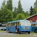 Suomen ainoa linja-automuseo Laviassa