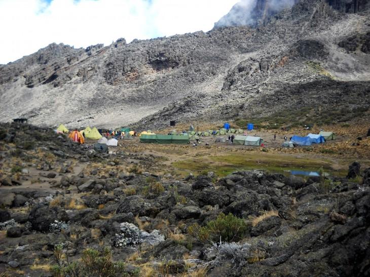 Mawenzi Tarn Huts -leiri