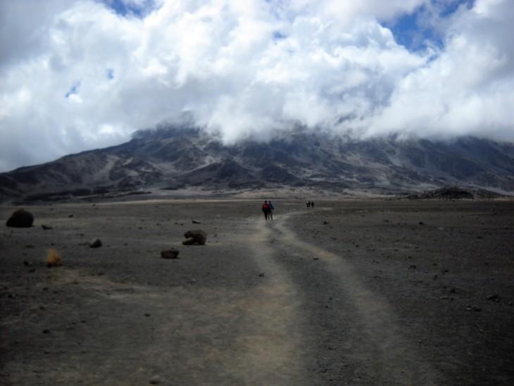 Kilimanjaro satula-alue