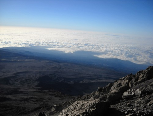 View from Kilimanjaro