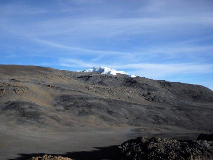 Kilimanjaron jäätikkö
